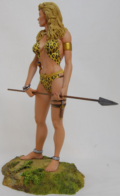 GOLDEN AGE'S SHEENA queen of jungle Sheenapainted003
