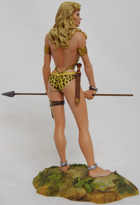 GOLDEN AGE'S SHEENA queen of jungle Sheenapainted006
