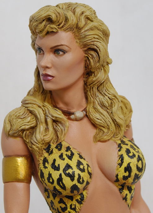 GOLDEN AGE'S SHEENA queen of jungle Sheenapainted017